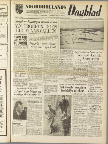 Noordhollands Dagblad : dagblad voor Alkmaar en omgeving 1961-12-07