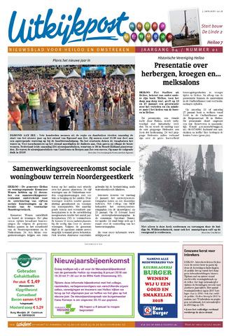Uitkijkpost : nieuwsblad voor Heiloo e.o. 2018-01-03
