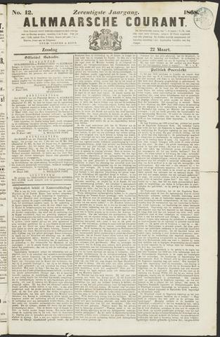 Alkmaarsche Courant 1868-03-22