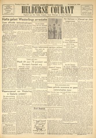 Heldersche Courant 1950-01-25