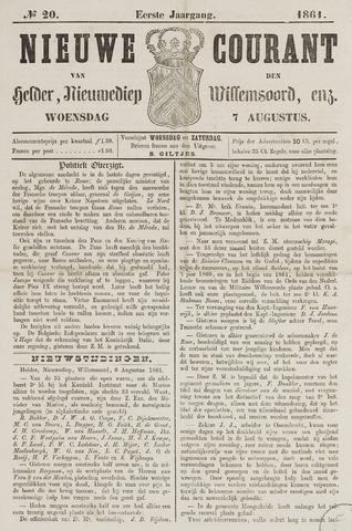 Nieuwe Courant van Den Helder 1861-08-07