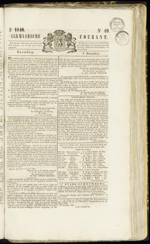 Alkmaarsche Courant 1840-12-07