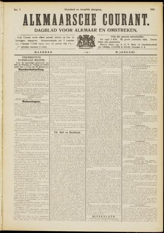 Alkmaarsche Courant 1910-01-10