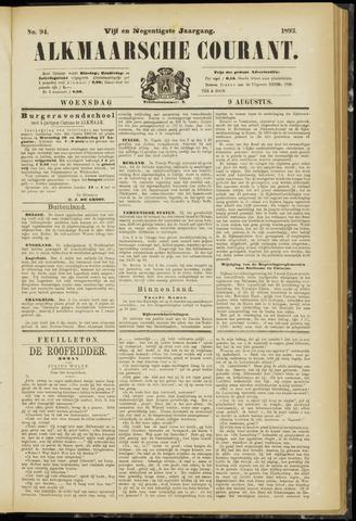 Alkmaarsche Courant 1893-08-09