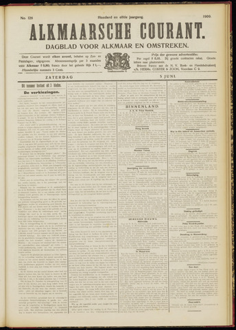 Alkmaarsche Courant 1909-06-05