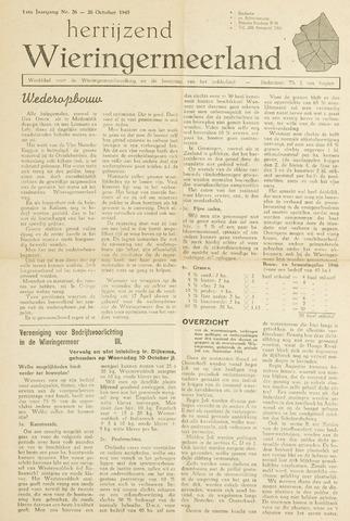 Herrijzend Wieringermeerland 1945-10-26