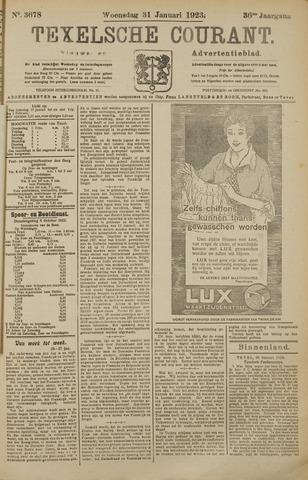 Texelsche Courant 1923-01-31