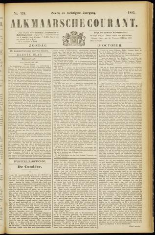 Alkmaarsche Courant 1885-10-18
