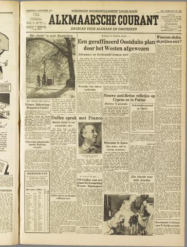 Alkmaarsche Courant 1955-11-02