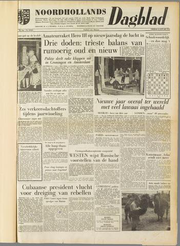 Noordhollands Dagblad : dagblad voor Alkmaar en omgeving 1959-01-02