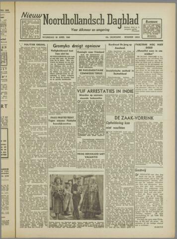 Nieuw Noordhollandsch Dagblad : voor Alkmaar en omgeving 1946-04-24