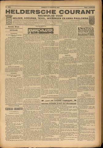 Heldersche Courant 1926-08-10