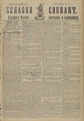 Schager Courant 1911-12-23