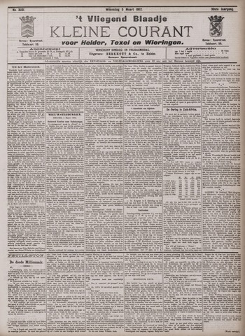 Vliegend blaadje : nieuws- en advertentiebode voor Den Helder 1902-03-05