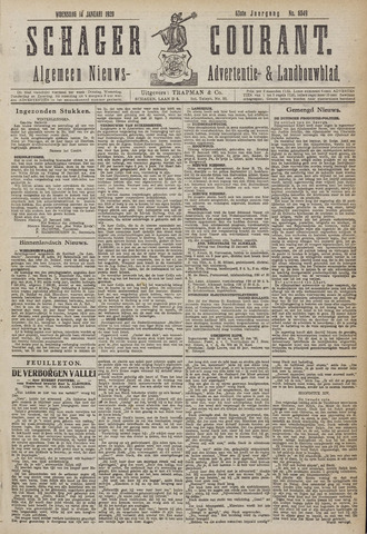 Schager Courant 1920-01-14