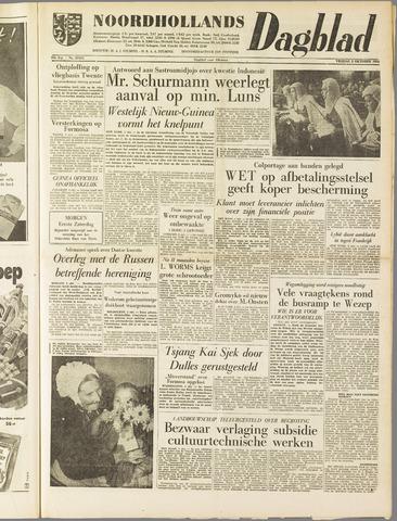 Noordhollands Dagblad : dagblad voor Alkmaar en omgeving 1958-10-03
