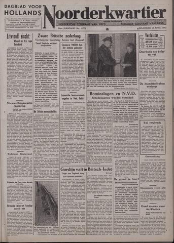 Dagblad voor Hollands Noorderkwartier 1942-04-13