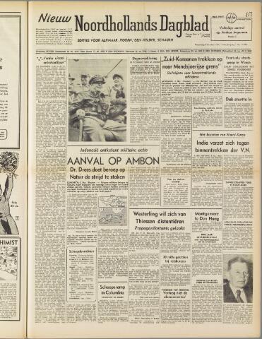 Nieuw Noordhollandsch Dagblad : voor Alkmaar en omgeving 1950-10-04