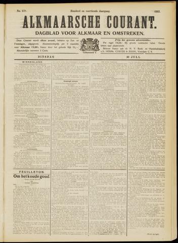 Alkmaarsche Courant 1912-07-30