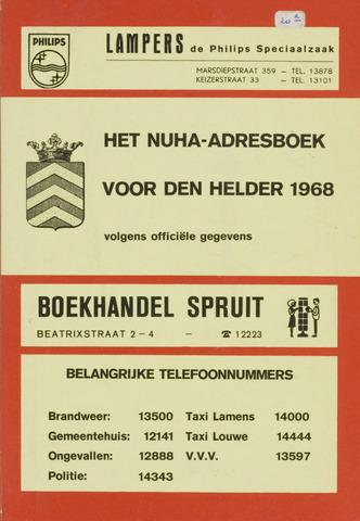 Adresboek van Den Helder 1968-01-01