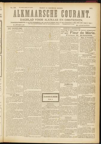 Alkmaarsche Courant 1917-08-25