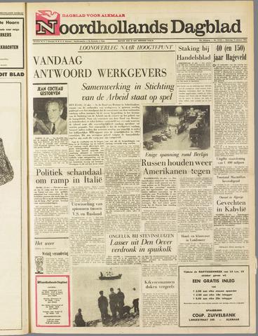 Noordhollands Dagblad : dagblad voor Alkmaar en omgeving 1963-10-12