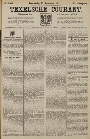 Texelsche Courant 1911-09-21