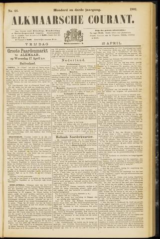 Alkmaarsche Courant 1901-04-12