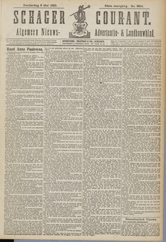 Schager Courant 1920-05-06