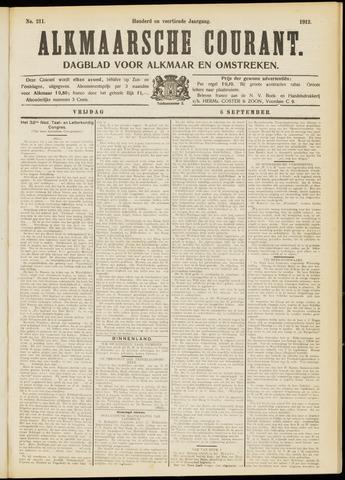 Alkmaarsche Courant 1912-09-06
