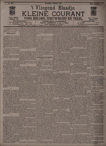 Vliegend blaadje : nieuws- en advertentiebode voor Den Helder 1896-02-05