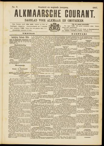 Alkmaarsche Courant 1907-01-11