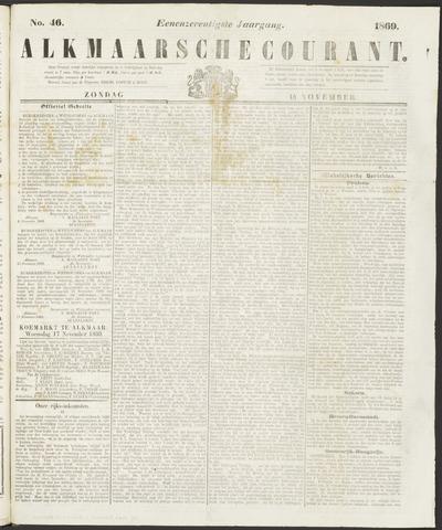 Alkmaarsche Courant 1869-11-14