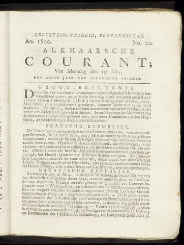 Alkmaarsche Courant 1800-05-19
