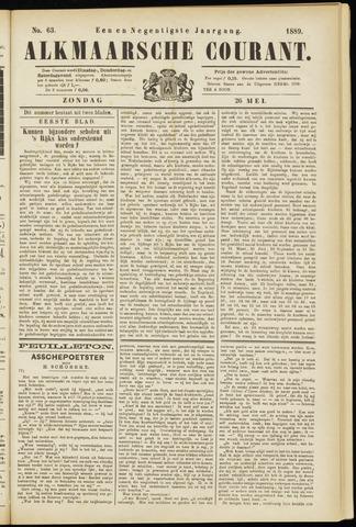 Alkmaarsche Courant 1889-05-26
