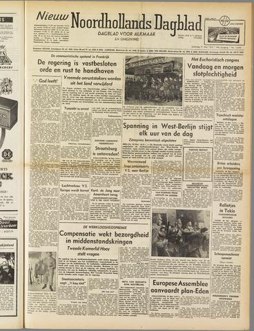 Nieuw Noordhollandsch Dagblad : voor Alkmaar en omgeving 1952-05-31
