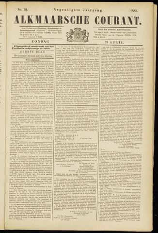 Alkmaarsche Courant 1888-04-29