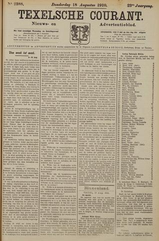 Texelsche Courant 1910-08-18
