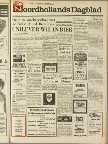 Noordhollands Dagblad : dagblad voor Alkmaar en omgeving 1968-11-30