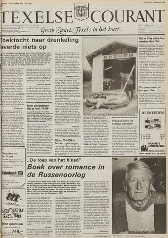 Texelsche Courant 1986-11-04