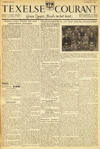 Texelsche Courant 1952-05-21