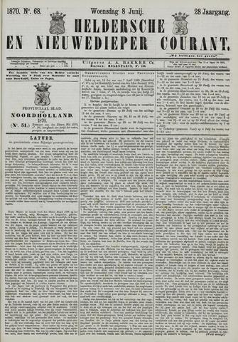Heldersche en Nieuwedieper Courant 1870-06-08