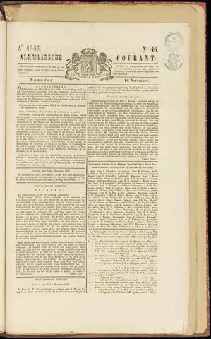 Alkmaarsche Courant 1846-11-16