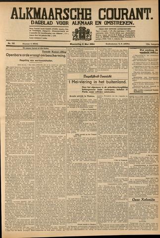 Alkmaarsche Courant 1934-05-02
