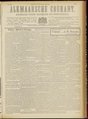 Alkmaarsche Courant 1916-09-01