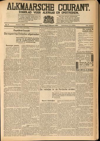 Alkmaarsche Courant 1934-02-08
