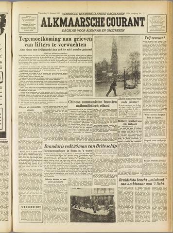 Alkmaarsche Courant 1955-01-19