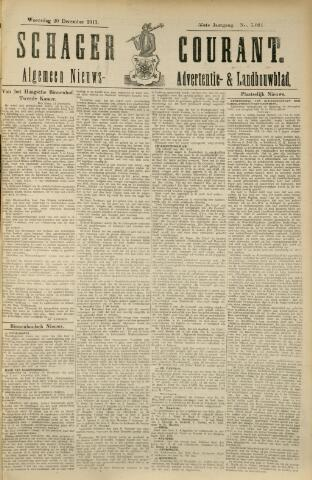 Schager Courant 1911-12-20