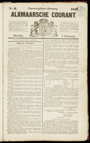 Alkmaarsche Courant 1857-02-09