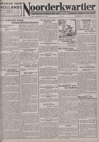 Dagblad voor Hollands Noorderkwartier 1941-11-19